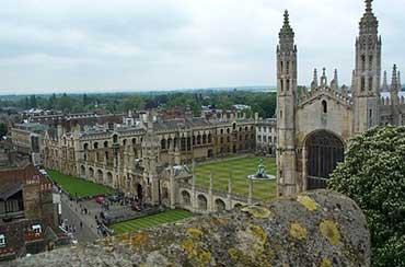 Universidad de Cambridge en Inglaterra