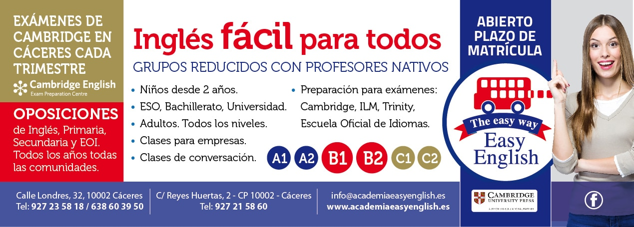 Clases de Verano Academia Inglés Cáceres